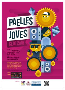 Cartell Paelles Joves 2016 CLJO