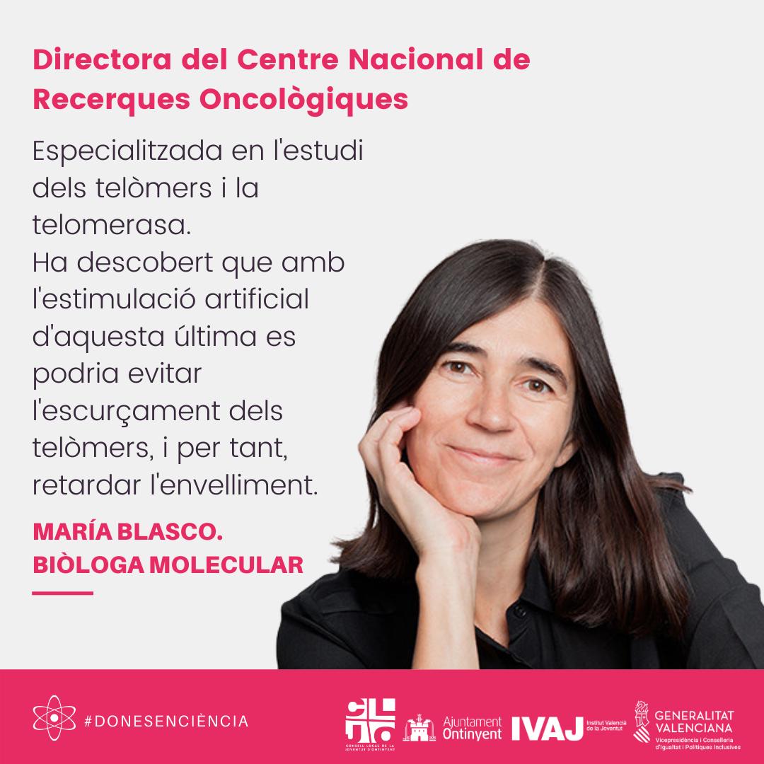 Información María Blasco